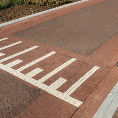 Modulaire straatverharding
